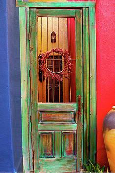 Green Door by Terry Medaris