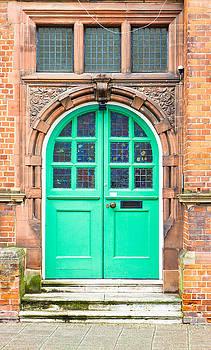 Green door by Tom Gowanlock