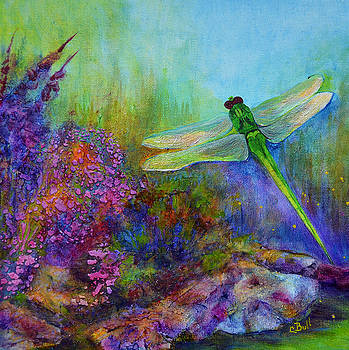Claire Bull - Green Dragonfly