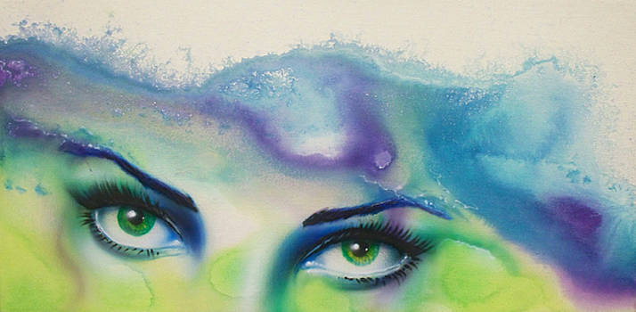 Green Eyed Lady by Mike Royal