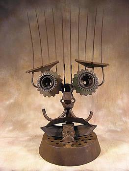 Green Eyed Rakki by Chris Jaworski