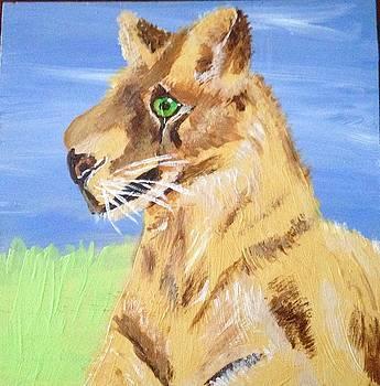 Green Eyed Tiger by Brenda L Smith