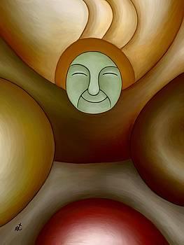 Green face by Rafi Talby