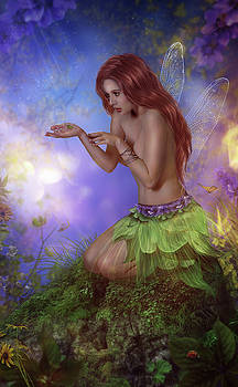 Green Fairy by Susan Gerardi