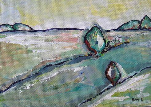 Green Fields 1 by Brooke Baxter Howie