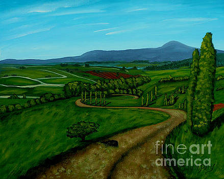 Green Fields by Anthony Dunphy