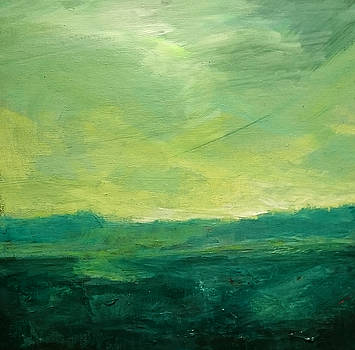 Green Fields by Paul Mitchell