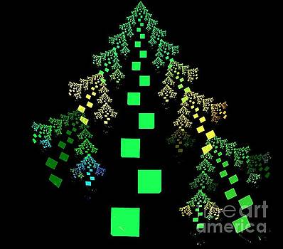 Green Fir Tree by Kim Sy Ok