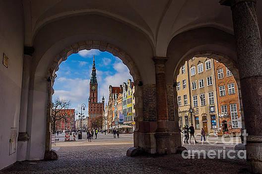 Mariusz Talarek - Green Gate, Long Market, Gdansk