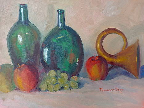Green Glass and Horn by Maureen Obey