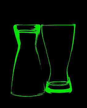 Green Glass by Lonnie Paulson