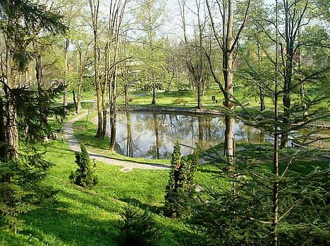 Green heaven by Aleksandra Savova