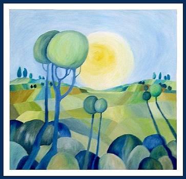 Green Hills by Carola Ann-Margret Forsberg