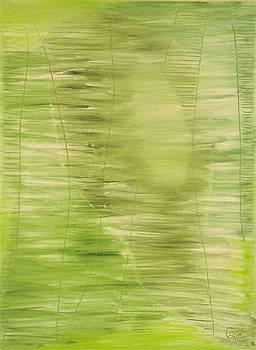 Green I by Gunter  Tanzerel