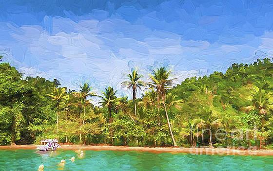 Green Island by Pravine Chester