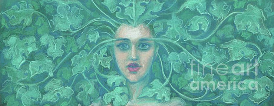Green Lady / Forest Queen  by Julia Khoroshikh
