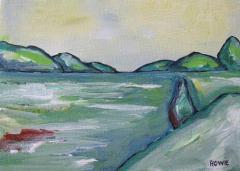 Green Landscape 2 by Brooke Baxter Howie