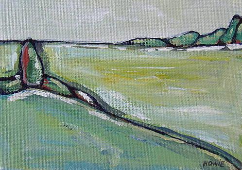 Green Landscape 3 by Brooke Baxter Howie