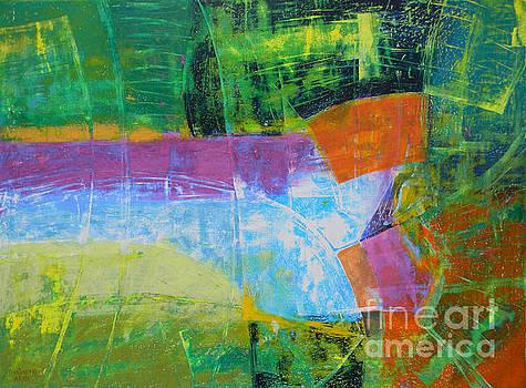 Green Landscape by Adel Nemeth