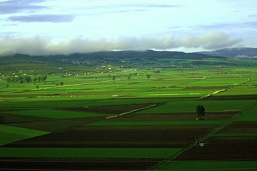 Green Landscape by Emmanuel Varnas