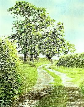 Green lane by Alwyn Dempster Jones