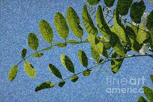 Green Leaves 2 by Jean Bernard Roussilhe