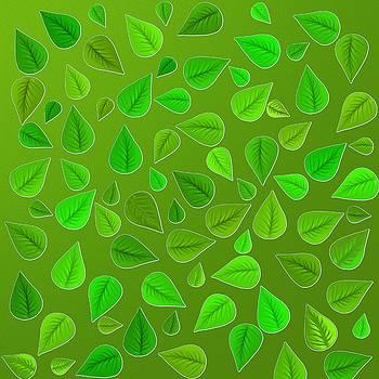 Green Leaves by Nelma Grace Higgins
