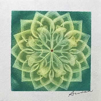 Green lotus  by Alisa Takahashi