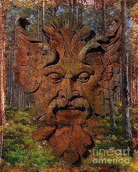 Kathryn Strick - Green Man of the Forest 2016