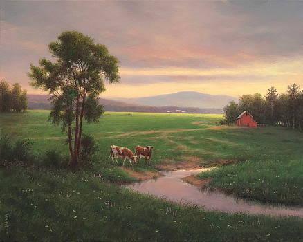 Green Meadows by Barry DeBaun