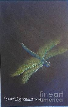 Green messenger by Angie Sellars