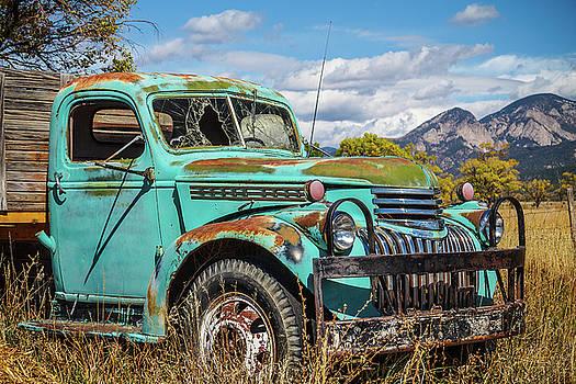 Green Mountain Truck by Steven Bateson