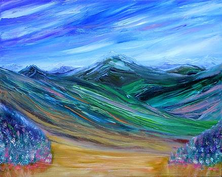 Green Mountains by David King Johnson