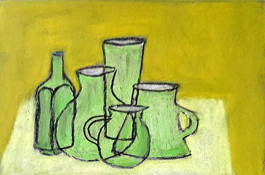 Green Objects by Bernard Victor