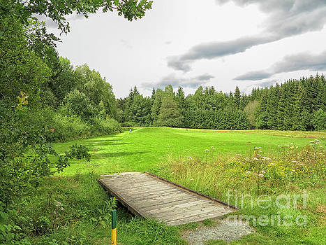 Green on course by Patricia Hofmeester