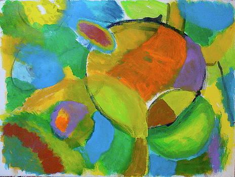 Green Orbs by Thom Duffy