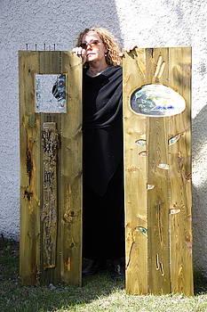 Green Panels by Jolanta Sokalska