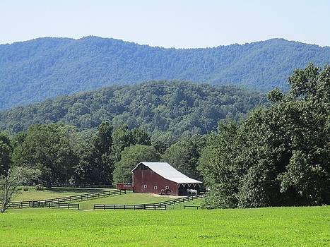 Mountain Barn Retreat by Charlotte Gray
