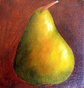 Green Pear 9 by Susan Dehlinger