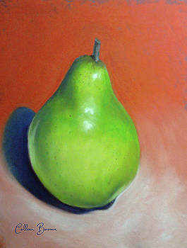 Green Pear by Colleen Brown