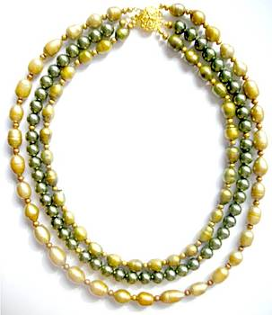 Green Pearls by Pat Stevens