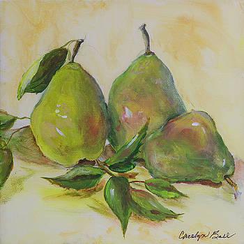 Green Pears by Carolyn Bell