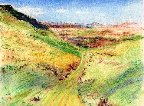 Green Road by Kathleen Barnes