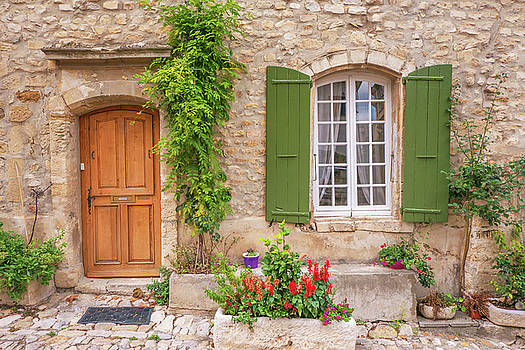 Green Shutters by Cheryl Ramalho
