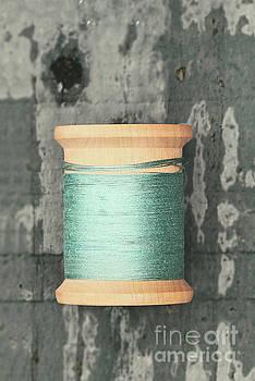 Green Spool of Thread by Stephanie Frey