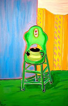 Green Stool by Martin Silverstein