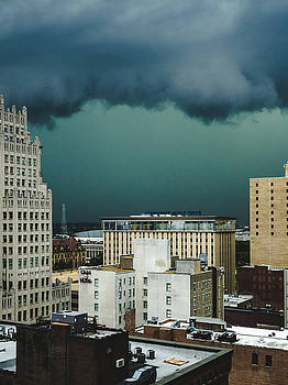 Dramatic Storm Clouds In St. Louis, MO by Dylan Murphy