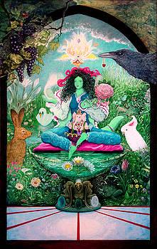 Green Tara Rebirth in The Heart of Compassion by Heidi Hanson