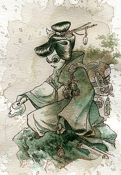 Green Tea by Brian Kesinger