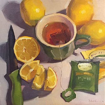 Green Tea With Lemons by Sarah Sedwick